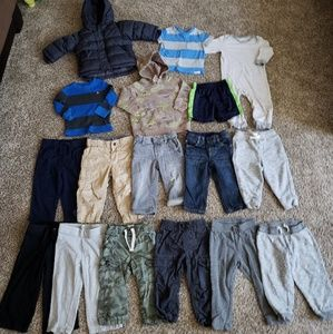 Other - Boys 16 piece 18-24 month clothing lot